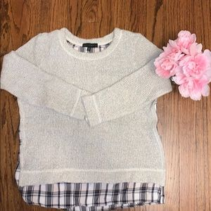 Sanctuary double layer sweater